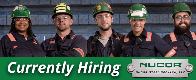 Nucor Currently Hiring