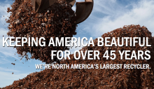 Keeping America beautiful for over 45 years. We're North America's largest recycler.