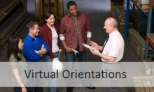 Click to view virtual orientation videos