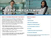 USDOL WOTC Employer Brochure