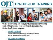On-the-Job Training Benefits