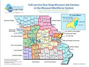 Missouri Job Center Map