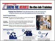 Show-Me Heroes On-the-Job Training